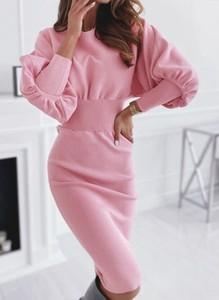 Różowa sukienka Cikelly mini