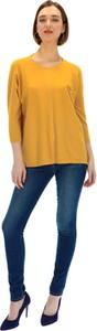 Żółty sweter Premiera Dona z kaszmiru