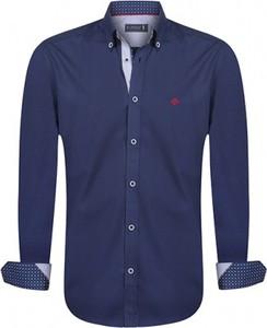 Niebieska koszula Sir Raymond Tailor z długim rękawem