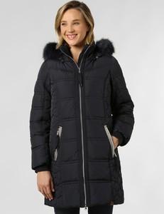 Granatowy płaszcz Soquesto