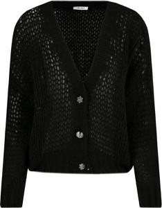 Czarny sweter Liu-Jo w stylu casual z wełny