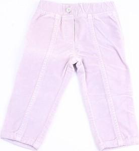 Różowe spodnie dziecięce Monnalisa