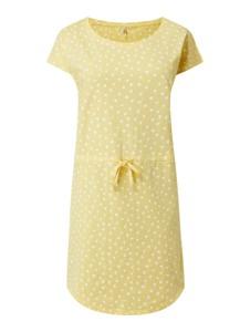 Żółta sukienka Only z krótkim rękawem