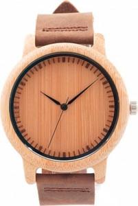 Brązowy zegarek bobo bird zegarki kwarcowe