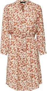 Sukienka Selected Femme koszulowa z długim rękawem mini