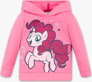 Różowa bluza dziecięca C&A