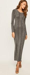 Sukienka Guess Jeans z okrągłym dekoltem