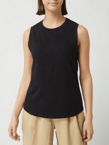Czarna bluzka Esprit z okrągłym dekoltem w sportowym stylu