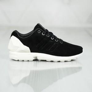 Buty sportowe Adidas zx flux z zamszu