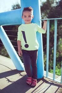 Bluzka dziecięca M-art-a-baby z długim rękawem
