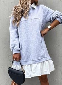 Sukienka Arilook mini z dresówki w stylu casual