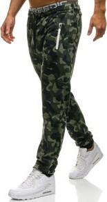 Szare spodnie sportowe denley z dresówki w street stylu