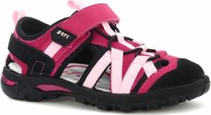 Różowe buty dziecięce letnie Wojas