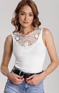 Bluzka Renee z okrągłym dekoltem bez rękawów