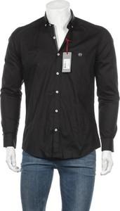 Czarna koszula Felix Hardy w stylu casual z klasycznym kołnierzykiem