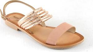 Sandały Manoukian Shoes ze skóry