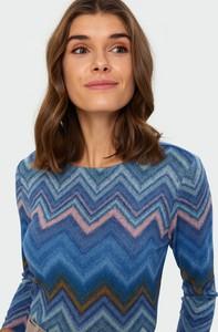 Sweter Greenpoint w geometryczne wzory