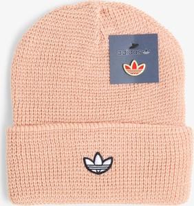 Różowa czapka Adidas Originals
