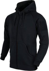 Czarna bluza HELIKON-TEX w młodzieżowym stylu z bawełny