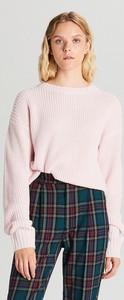 Różowy sweter Cropp