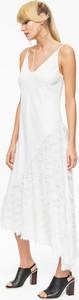Sukienka L'AF w stylu boho na ramiączkach asymetryczna