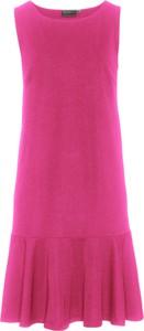 Sukienka bonprix bpc selection z okrągłym dekoltem midi
