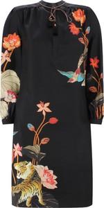 Sukienka Etro z długim rękawem z okrągłym dekoltem w stylu casual