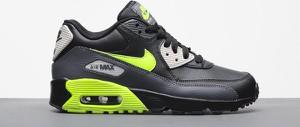 Buty sportowe Nike w sportowym stylu ze skóry air max 90