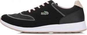 Buty sportowe Lacoste w młodzieżowym stylu z płaską podeszwą