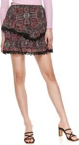Spódnica Top Secret z jedwabiu w stylu casual