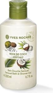 Yves Rocher Zmysłowy żel pod prysznic i do kąpieli Kokos