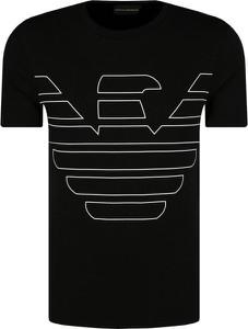T-shirt Emporio Armani z krótkim rękawem z nadrukiem