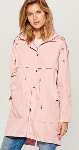 Różowa kurtka Mohito w stylu casual