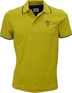 T-shirt Aeronautica Militare z bawełny z długim rękawem