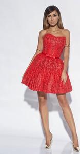 Czerwona sukienka Lou Women`s Fashion gorsetowa