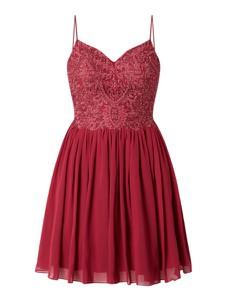 Sukienka Laona z satyny na ramiączkach mini