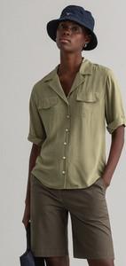 Zielona koszula Gant w stylu casual