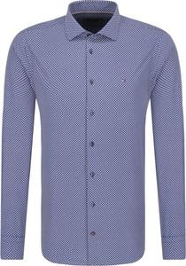 Koszula Tommy Tailored w stylu casual z włoskim kołnierzykiem