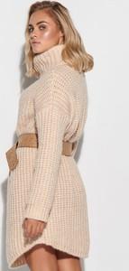 Sukienka Makadamia z długim rękawem