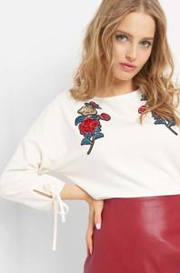Bluzka ORSAY w stylu casual z długim rękawem z okrągłym dekoltem