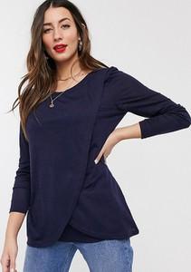 Niebieska bluzka New Look Maternity
