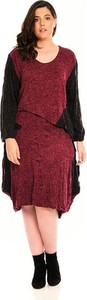 Sukienka Plus Size Fashion midi