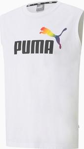 Top Puma z okrągłym dekoltem