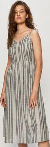 Sukienka Only z bawełny w stylu casual midi