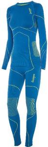 Niebieskie legginsy Viking