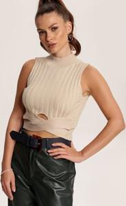Bluzka Renee w stylu casual bez rękawów