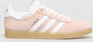Buty sportowe Adidas Originals z płaską podeszwą sznurowane z zamszu