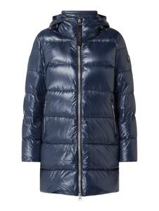 Granatowy płaszcz Dolomite w stylu casual