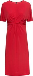 Sukienka bonprix RAINBOW z dżerseju midi