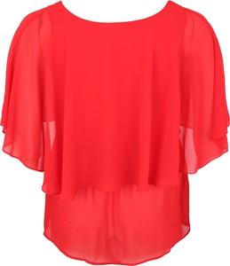 Czerwona bluzka Zizzi
